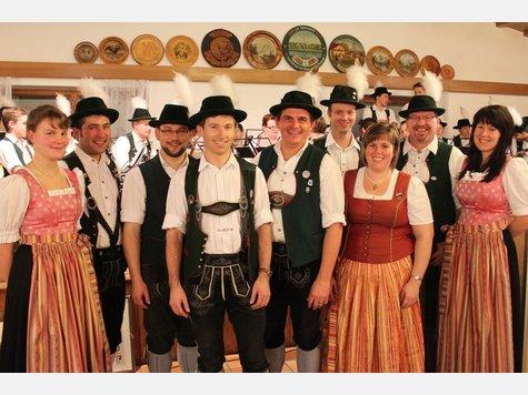 Vorstandschaft der Musikkapelle Nußdorf