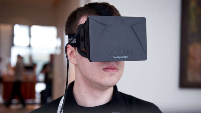 Virtual Reality, Brille, Oculus Rift