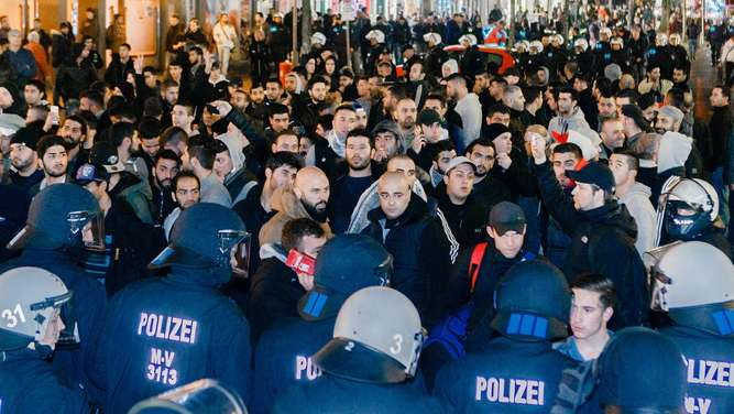 Kurden, Demonstration, Hamburg