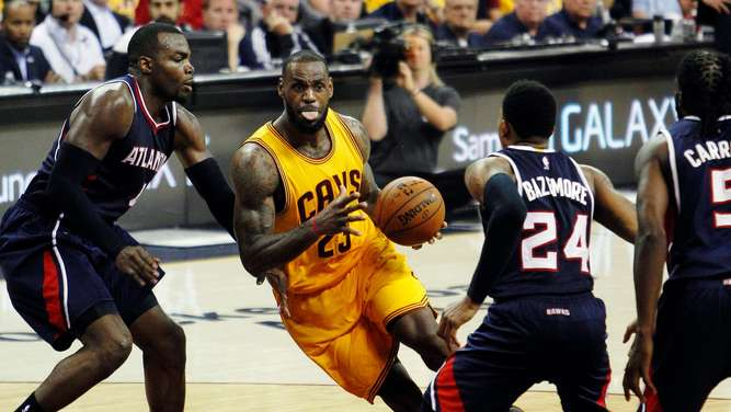 NBA Playoffs Cavaliers Hawks