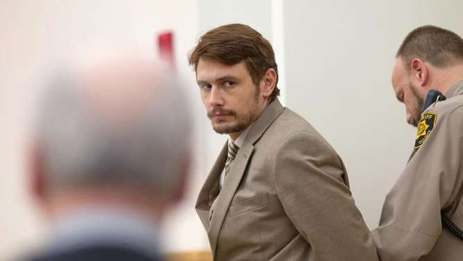 "Der mutmaßliche Mörder Christian Longo (James Franco) in ""True Story"". Foto: 2015 Twentieth Century Fox/dpa"