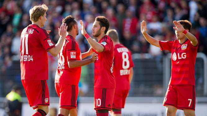 Bayer 04 Leverkusen, Play-offs Champions League