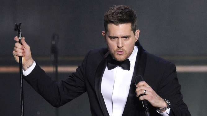 Michael Buble in concert