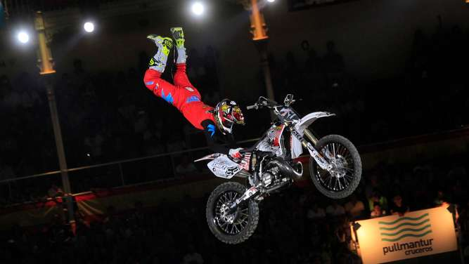 Red Bull X-Fighters Motocross Madrid