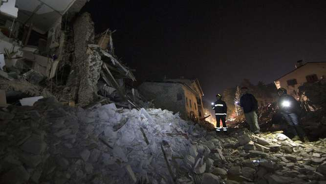 292 people confirmed dead in central Italian earthquake