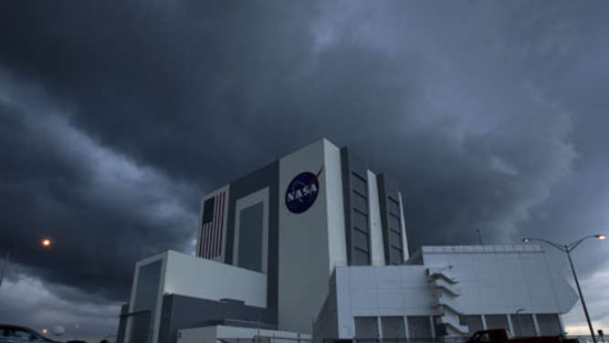 Das NASA Kennedy Space Center in Cape Canaveral(Florida).