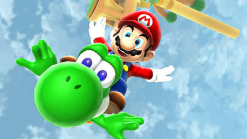 Screenshots aus Super Mario Galaxy 2