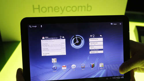 "Google-Software ""Honeycomb"" als iPad-Konkurrenz"