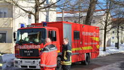 Brand in Traunstein