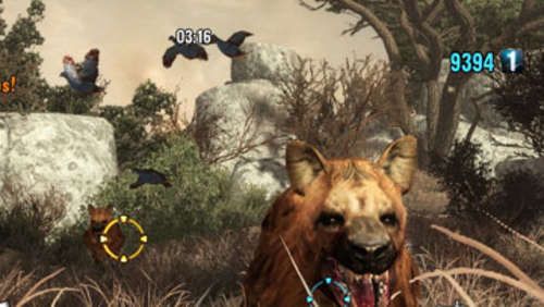 Screenshots aus Cabela&#39s Dangerous Hunts 2011