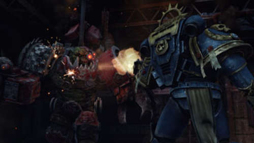 Screenshots aus Warhammer 40.000: Space Marine