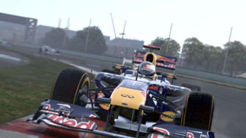 Screenshots aus F1 2011