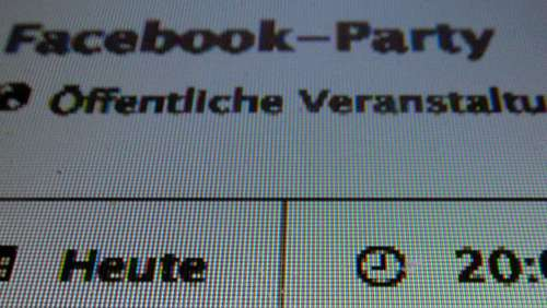 Illegale Facebook-Party kostet 200 000 Euro