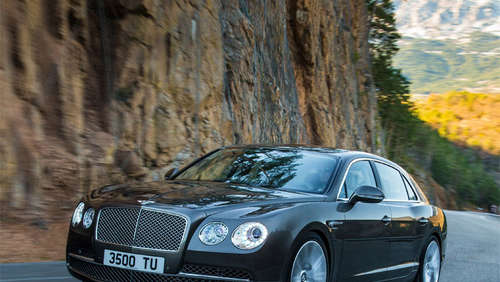 Luxus-Liner mit 625 PS: Bentley Flying Spur