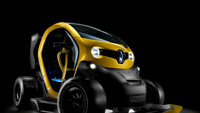 Twizy Renault mit Formel 1-Hightech