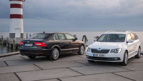 Facelift für den Skoda Superb