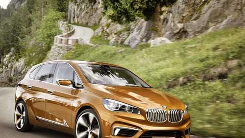 Naturbursche: BMW Concept Active Tourer Outdoor