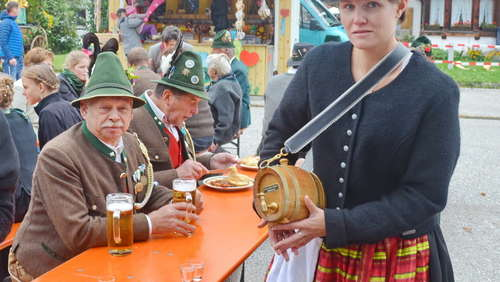 Michaeliritt in Inzell mit langer Tradition