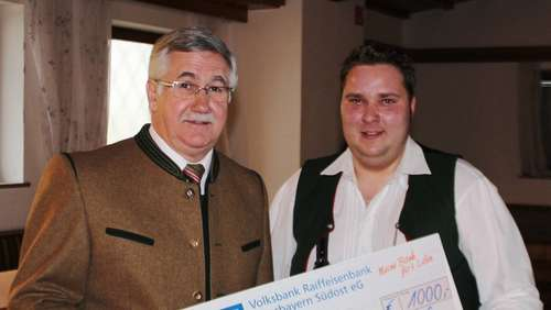Burschenverein spendet 1000 Euro