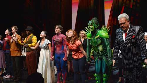 "Mega-Musical ""Spider-Man"" am Ende"