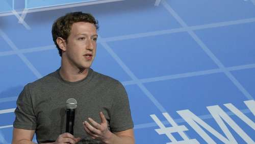 Facebook-Gründer Mark Zuckerberg Stargast in Barcelona