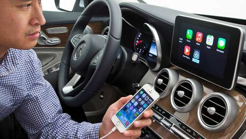 Autohersteller integrieren Apples CarPlay