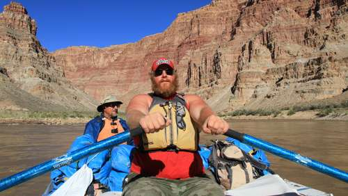 Schlauchboot-Tour durch den Cataract Canyon