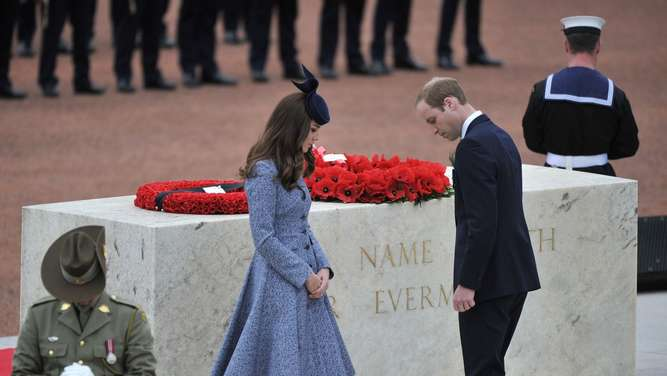 William und Kate in Australien