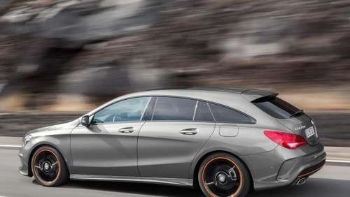 Kompaktes Kombi-Coupé: Mercedes CLA als Shooting Brake