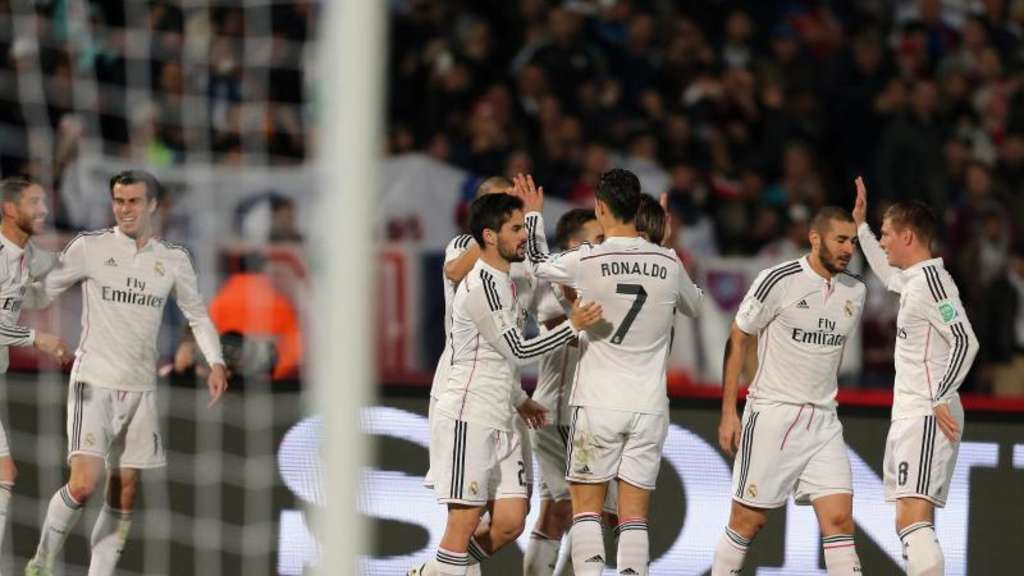 Real Madrid hat die Club-WM gewonnen. Foto: Mohamed Messara