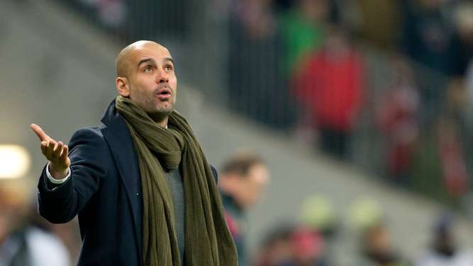 Bayern-Coach Pep Guardiola