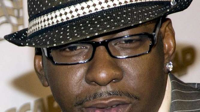 US-Sänger Bobby Brown 2008 in Beverly Hills, USA. Foto: Weisberg/EPA