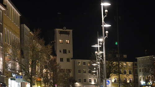 Earth Hour 2015 in Traunstein