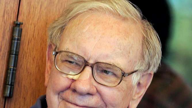 Eine Win-win-Situation: Ein Essen mit Warren Buffet. Foto: Peter Foley
