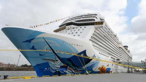 "Von Hamburg nach Miami: ""Norwegian Escape"" sticht in See"