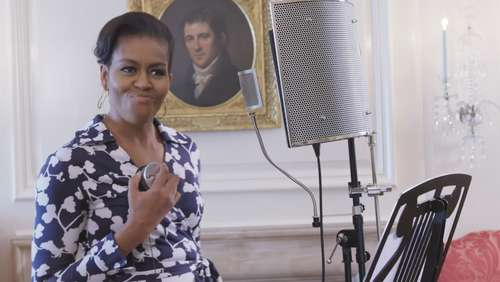 Hip-Hop Video: Michelle Obama rappt!