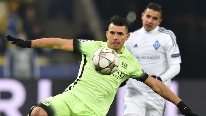 Manchester City, Dynamo Kiew, Champions League