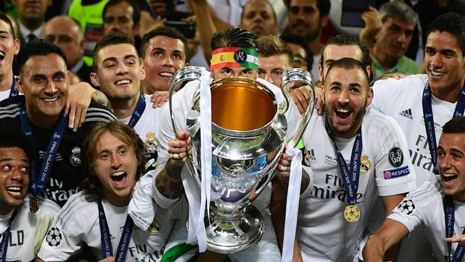 Real Madrid sicherte sich den Pott