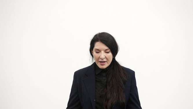Künstlerin Marina Abramovic 2014 in London. Foto: STR