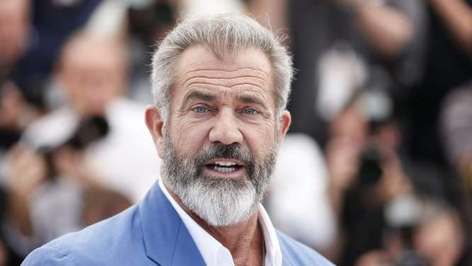 Mel Gibson 2016 in Cannes. Foto: Julien Warnand