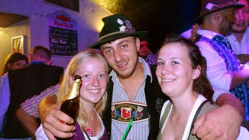 Afterwiesn Party im P2 am Donnerstag
