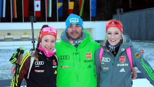 Nach Traininigslager in Ruhpolding: Deutsches Team mit Siegchancen