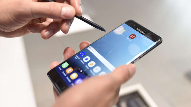 Das Samsung Galaxy Note 7.