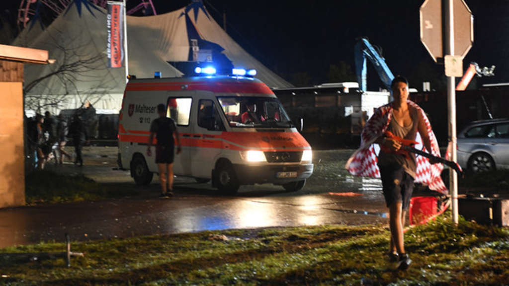 Unwetter in Bayern - Chiemsee-Summer-Festival