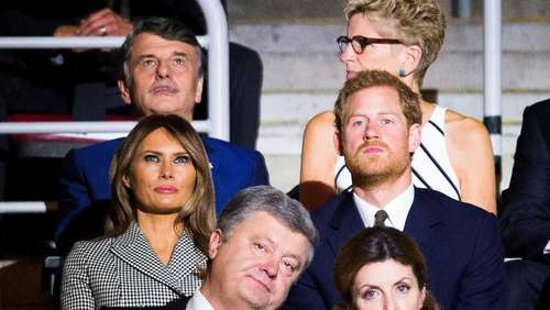 Melania Trump trifft Prinz Harry