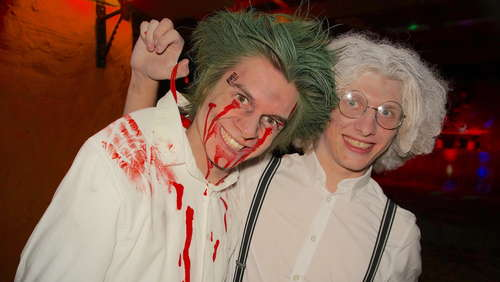 Halloween Party im Baamhakke in Piding - Teil 2