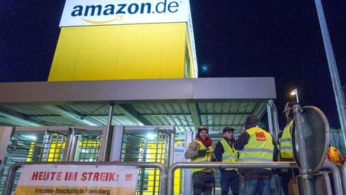 "Amazon-Mitarbeiter streiken am ""Black-Friday"""