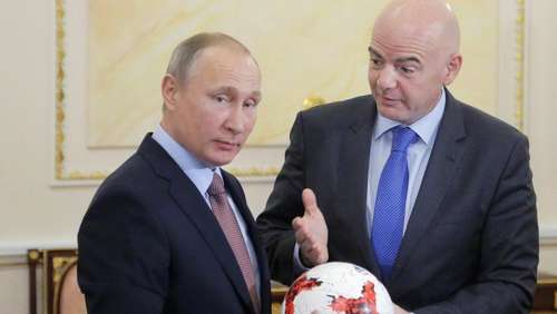 FIFA-Chef Infantino in der Russland-Falle