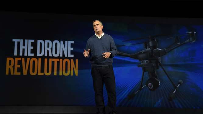 Intel-Chef Brian Krzanich.