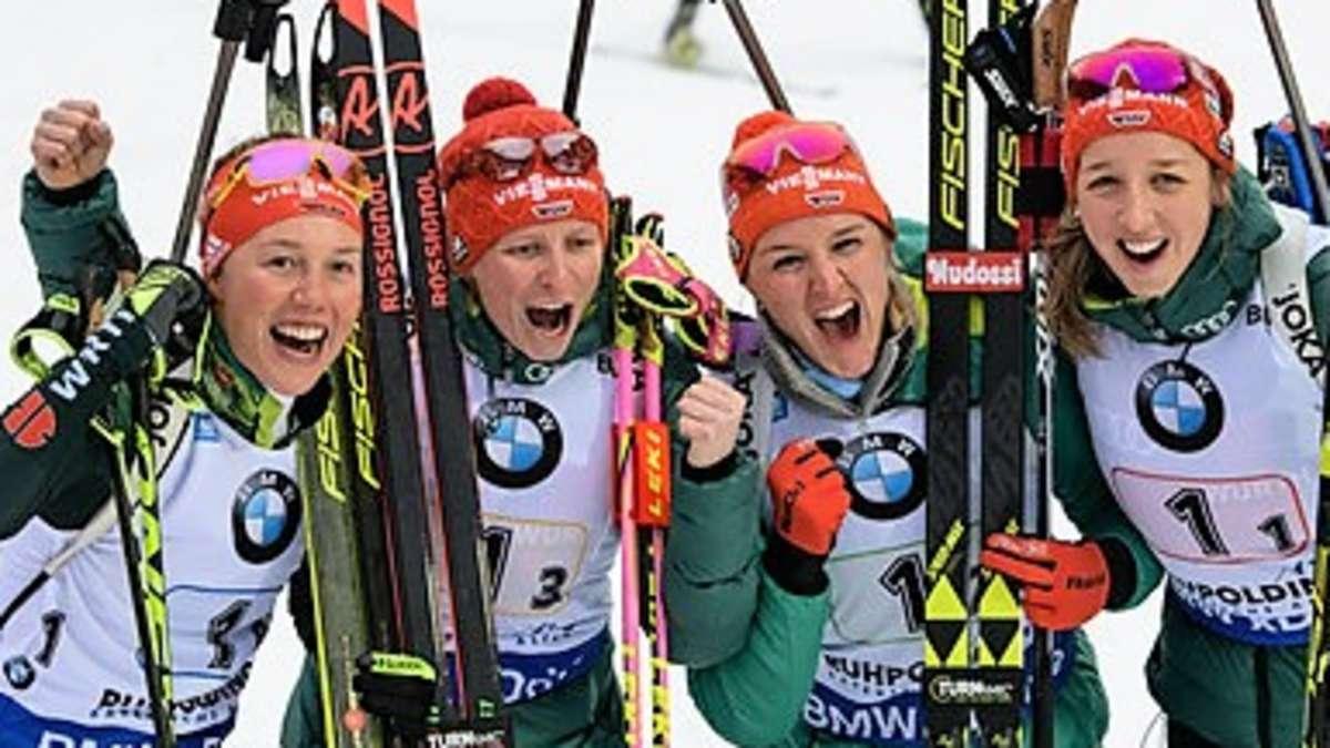 Biathlon Staffel Frauen